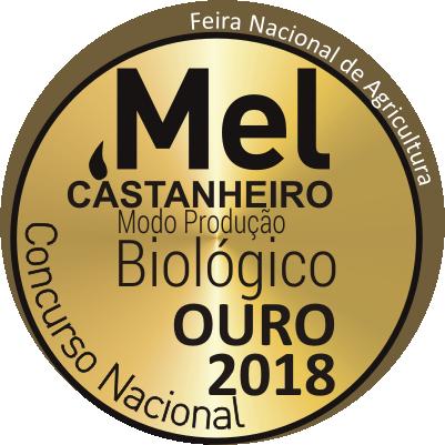 Mel de Castanheiro Biológico - ouro2018 - prémio