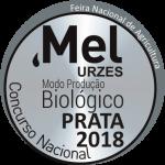 Mel de Urzes Biológico - prata2018 - prémio